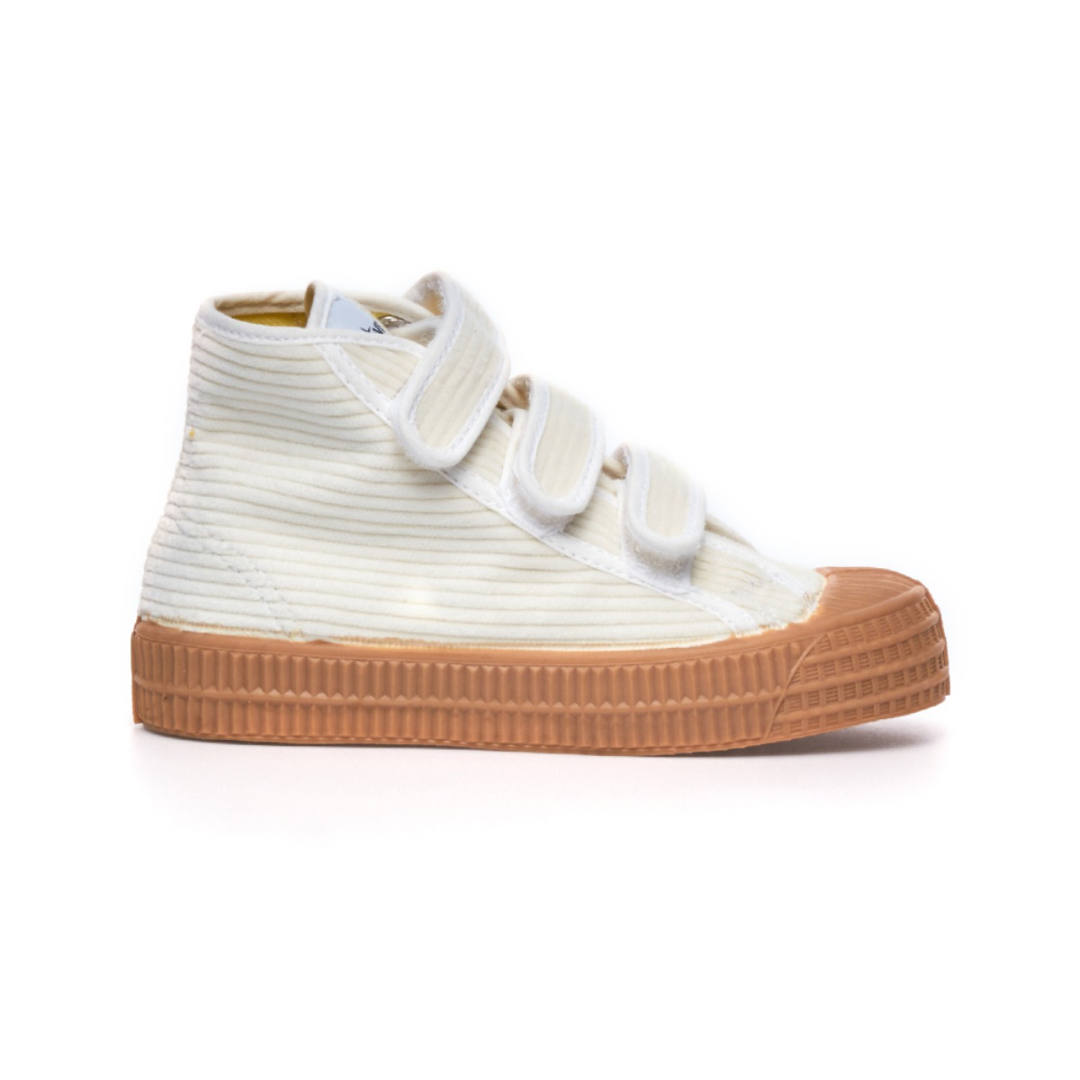 Star Dribble Kids Velcro Corduroy White/Beige