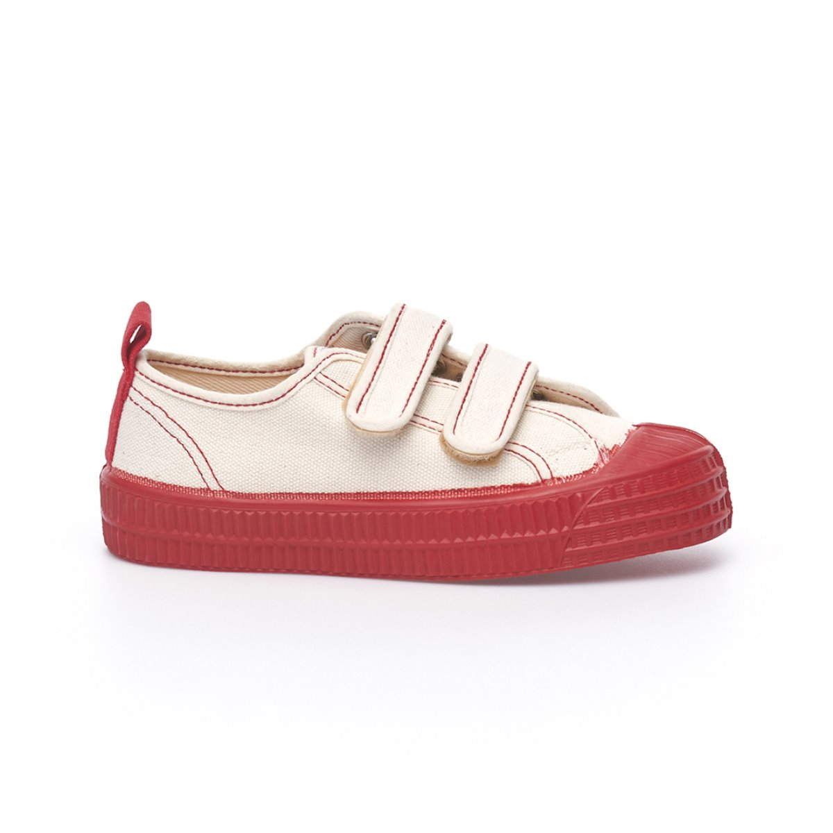 Star Master Kids Velcro Ecru/Red